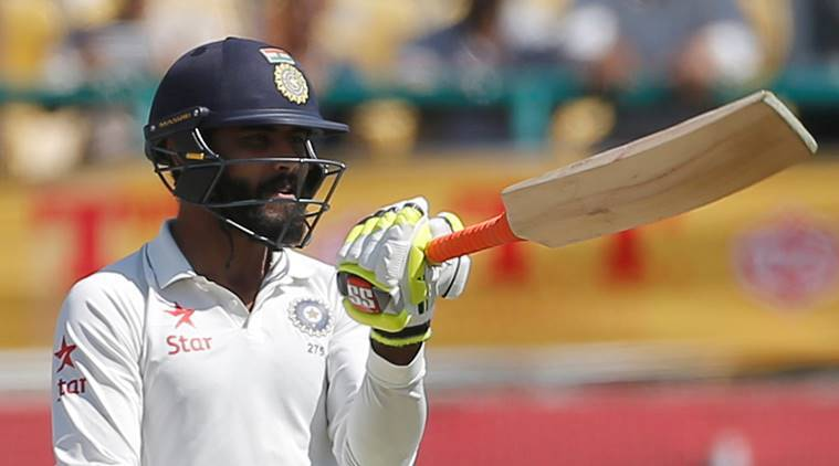 Ravindra Jadeja, Ravindra Jadeja runs, Ravindra Jadeja century, Vijay Hazare Trophy 2018, Vijay Hazare Trophy 2018 results, sports news, cricket, Indian Express