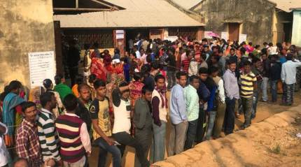 Tripura Assembly elections: 23.25% polling recorded till 11am, voters divided between BJP, CPM