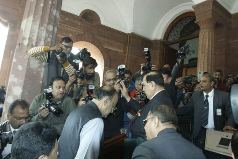 Arun Jaitley presents Union Budget 2018 in Parliament