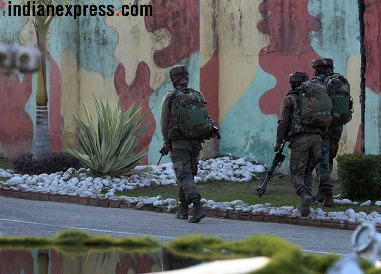 Two soldiers killed in Sunjuwan military attack
