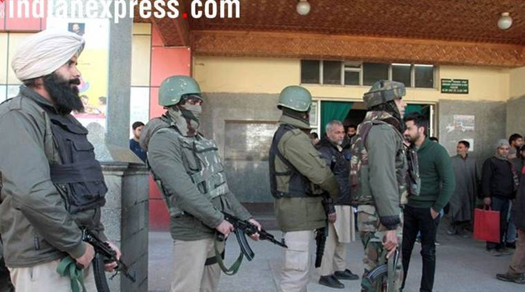 On Thursday, Vaid had told The Indian Express that security forces are taking necessary precautions in view of the alert in the Valley.