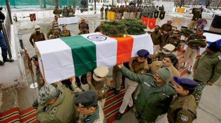 J&K: BSF jawans raise anti-Pakistan slogans at wreath-laying ceremony of colleagues