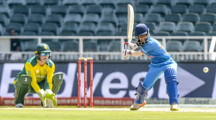 Jemimah Rodrigues, Harmanpreet Kaur, India women vs south africa women, ind vs sa, womens cricket, cricket, indian express