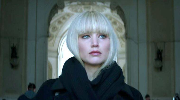 Jennifer Lawrence Red Sparrow Scared Me Because I Get Nude  Entertainment News, The -2854