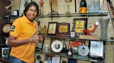 Jhulan Goswami, Jhulan Goswami India, India Jhulan Goswami, Jhulan Goswami bowling, sports news, cricket, Indian Express