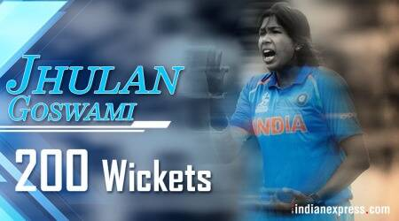 Jhulan Goswami becomes first woman to pick 200 ODIwickets