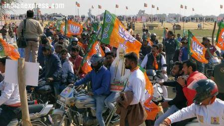 Amit Shah at Jind bike rally: 'This (Haryana) is the state whose Congress chief minister went to jail'