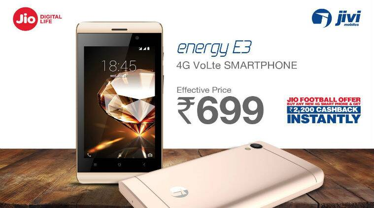 Jivi 4G smartphones selling at effective price of Rs 699