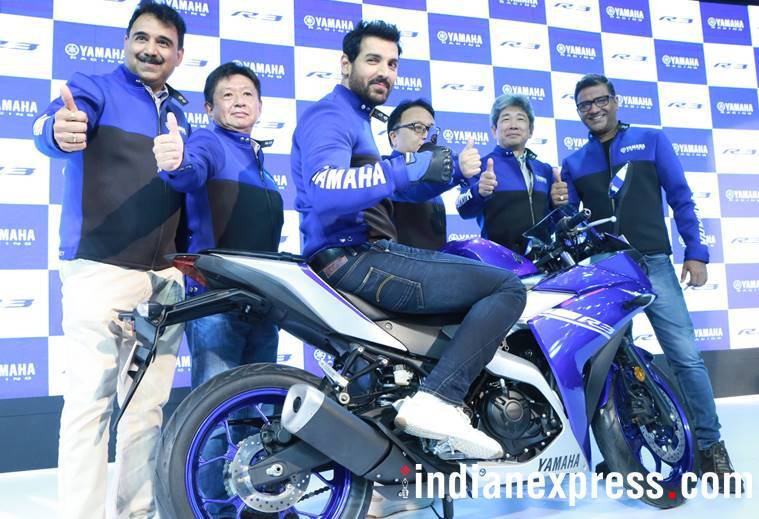 John Abraham at Auto Expo 2018
