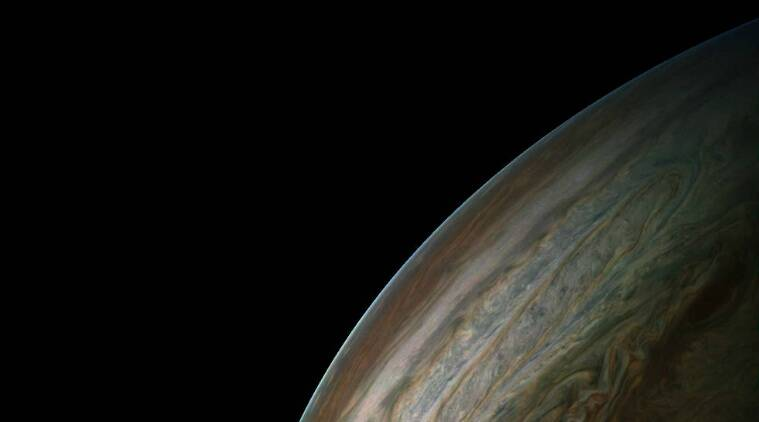 Jupiter, NASA Juno spacecraft, Juno Jupiter fly-by, Great Red Spot, Jupiter storms, Jupiter's atmosphere, auroras, magnetosphere, Jupiter's southern hemisphere