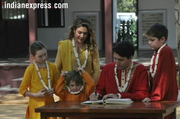 Justin Trudeau & family3
