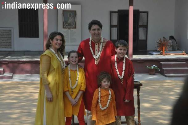Justin Trudeau & family8