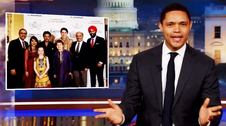Justin Trudeau, Justin Trudeau india, Justin Trudeau outfit, trevor noah Justin Trudeau, trevor noah