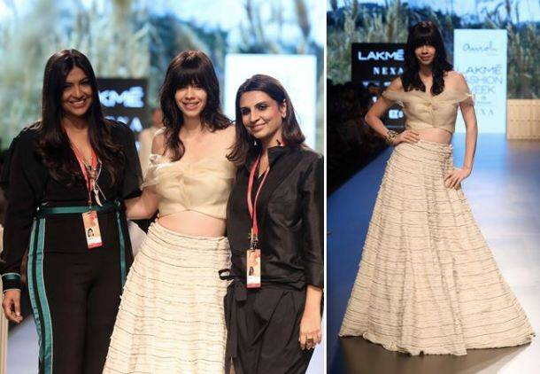 lakme fashion week, lfw 2018, karan johar, sonakshi sinha, Kalki Koechlin, lfw 2018 day 3 highlights, lakme fashion week bollywood stars, fashion news, indian express