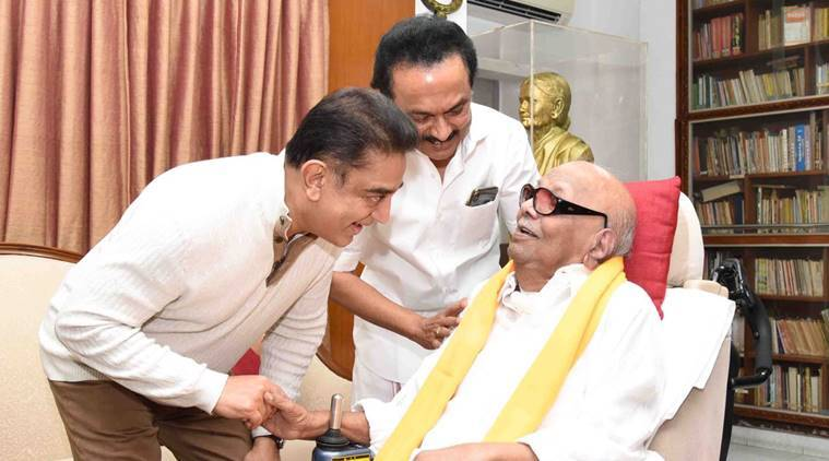 Kamal Haasan visits APJ Abdul Kalam's residence before his political party launch