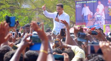 Kamal Haasan launches political party Makkal Needhi Maiam, calls for unity