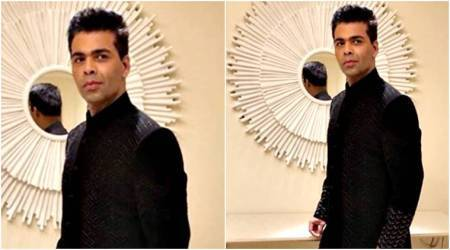Karan Johar shows us how to glam up for a friend's sangeetceremony