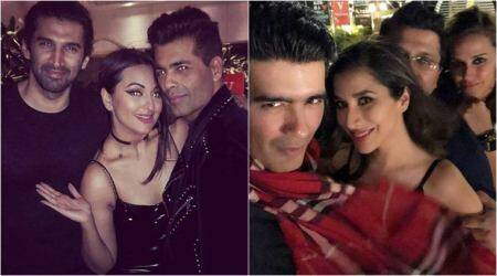 Inside Karan Johar's 'Singles Only party': Sonakshi Sinha, Neha Dhupia and Aditya Roy Kapur in attendance