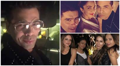 karan johar singles party photos