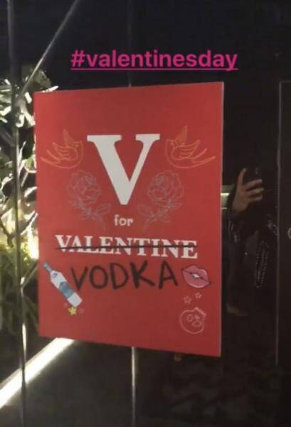 karan johar valentines day party