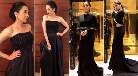 Karisma Kapoor or Bhumi Pednekar: Who wore the black gown better?