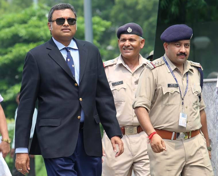 Company under probe paid for Karti watches, paintings: ED to Delhi court