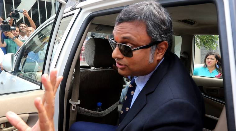 The ED had grilled Karti in this case in the past.