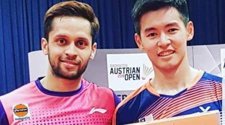 ParupalliKashyap lifts first title in three years inAustria