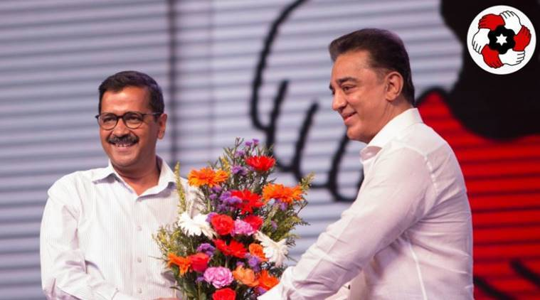 People of Tamil Nadu ready to throw out DMK, AIADMK: Arvind Kejriwal on Kamal Haasan's party launch