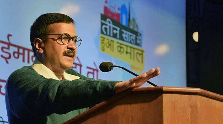 arvind kejriwal, drainage, delhi infrastructure, delhi roads, india news, kejriwal government, delhi budget, aap government, unauthorised colonies, national capital, AAP completes three years in power