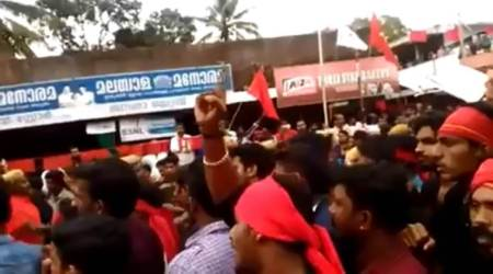 Day after arrest, videos emerge of murder accused CPM worker issuing threats at rallies