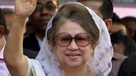 bangladesh, khaleda zia, dhaka sc, jailed bangladesh pm, khaleda zia bail, bangladesh pm corruption case, indian express