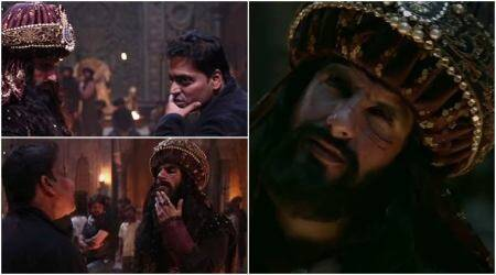 Making of Padmaavat song Khalibali: The madness behind Ranveer Singh's Khilji