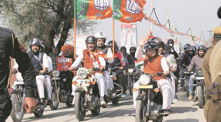 In Haryana, Jind gets ready for BJP chief Amit Shah's mega bike