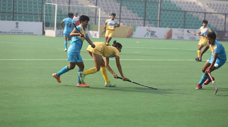 Khelo India School Games, Khelo India School Games news, Khelo India School Games updates, Ounjab, Haryana, sports news, hockey, Indian Express