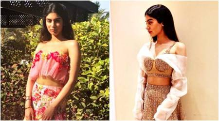 Khushi Kapoor gives us ethnic wear goals in beautiful lehengas at cousin Mohit Marwah's wedding