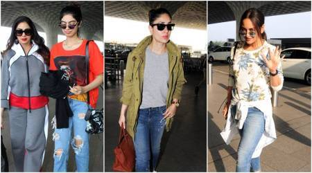 Kareena Kapoor Khan, Khushi Kapoor, Sonakshi Sinha: Best airport looks of the week (Feb 17 – Feb 24)