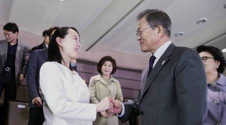 Kim Jong Un's sister ends Winter Olympic visit, leaving South Korea to mull offer