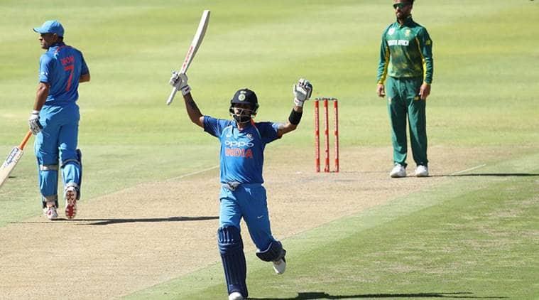 Virat Kohli scores century