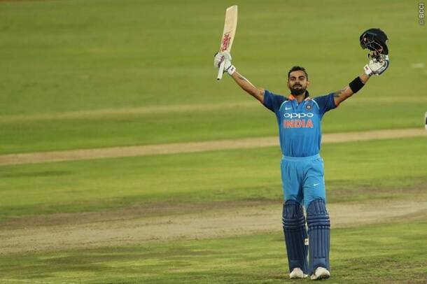 virat kohli hits century vs south africa