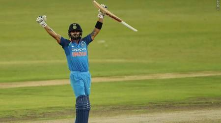 india vs south africa, ind vs sa, virat kohli, kohli, virat kohli century, india tour of south africa 2018, cricket news, indian express