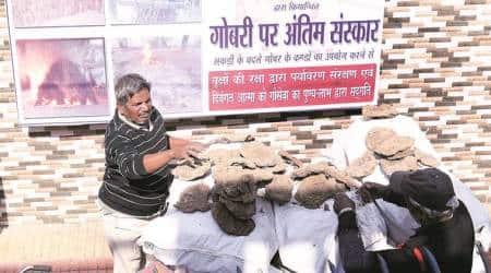 Kolkata crematorium offers 'environment-friendly, holy' cow dung cakealternative