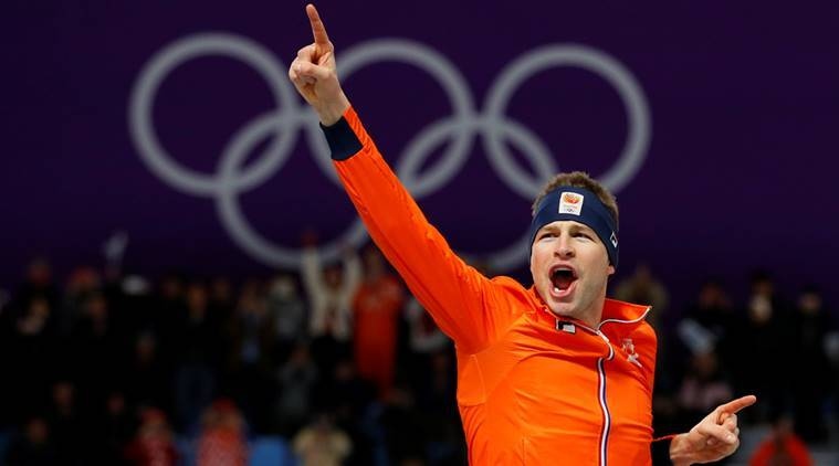Dutchman Sven Kramer storms to Winter Olympic 5000 metres hat-trick