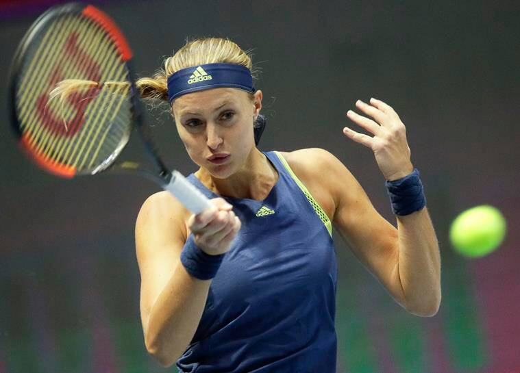 St Petersburg Open: Petra Kvitova dominates to defeat Kristina Mladenovic