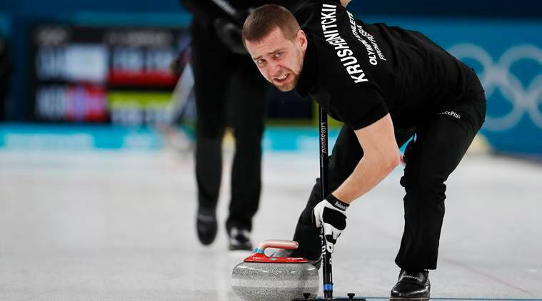 Russian curler's B-sample tests positive for meldonium