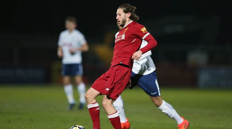 Adam Lallana sent off after clash with Tottenham teenager
