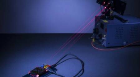 New laser system can charge smartphones across a room