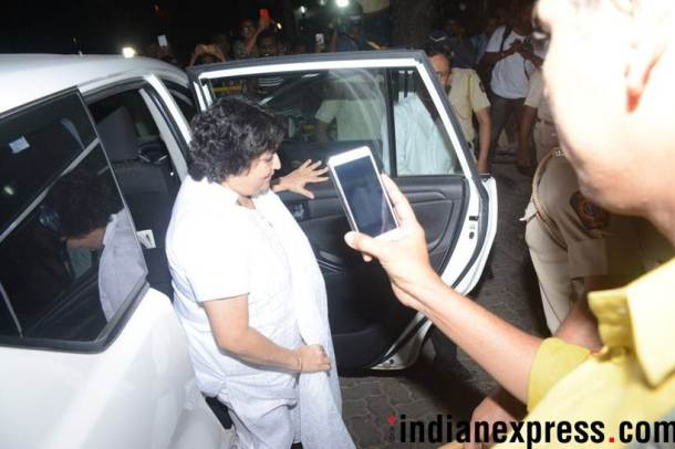 Latha Rajinikanth at anil kapoor's home