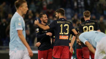 Serie A: VAR help can't prevent Lazio from second straight defeat