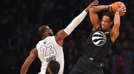 NBA All star weekend: Team LeBron James edges Team Stephen Curry 148-145